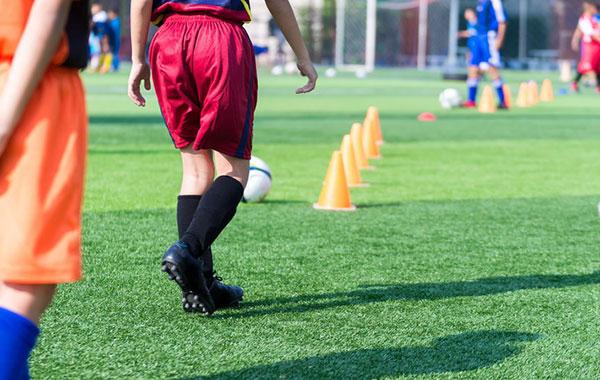 サッカー練習